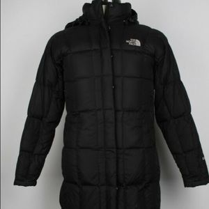 The North Face woman's down puffer coat